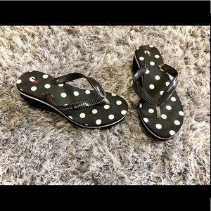 Tommy Hilfiger Polka Dot Sandals